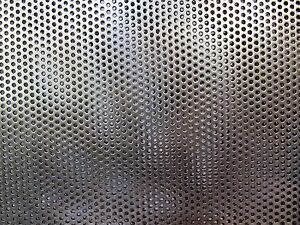 3 32 Hole 18 Ga Perforated 304 Stainless Sheet 11 1 2 X 24