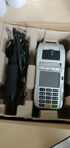 First Data Fd130 Terminal Credit Card Machine With Power Supply Cor