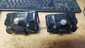 Holley Center Hung Double Pumper Fuel Bowls Loaded New 4150 Dp Black New Parts