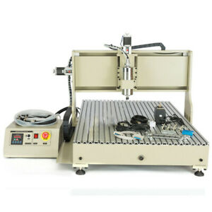 4 Axis 1 5 2 2kw Cnc Router Engraver 6090 Engraving Drilling Milling Machine Usb