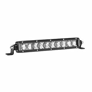 Rigid Sr Series Single Row 10 Deg Spot 20 Deg Flood Combo Led Light 910313