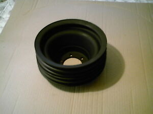 Mopar 361 440 Or 318 360 4 Groove Crank Pulley For A C
