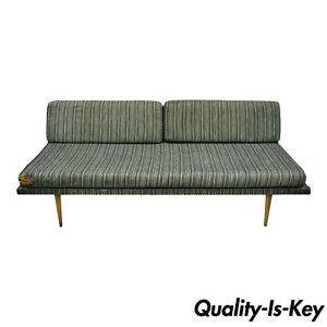 Vintage Mid Century Danish Modern 74 Daybed Chaise Lounge Sofa