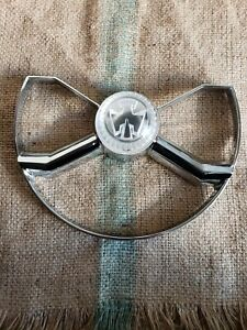 1950 Chevrolet Butterfly Steering Wheel Center Cap nice