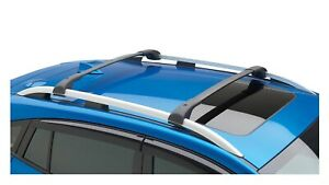 2017 2019 Subaru Impreza Aero Roof Rack Crossbar Set Kit E361sfl000 Genuine New