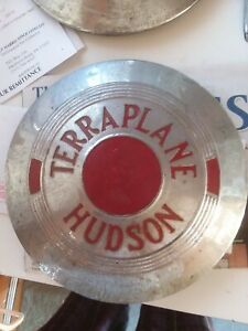 1937 1938 Hudson Terraplane Hubcap Wheel Cover Deluxe 71 Coupe Series 70 Pick Up