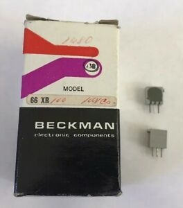 Box Of 97 Beckman 66xr100 Trimmer Potentiometer 100 Ohm