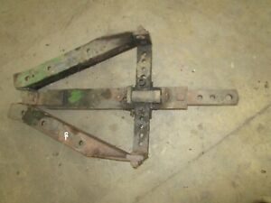 John Deere Unstyled B Original Drawbar Frame Assembly Antique Tractor