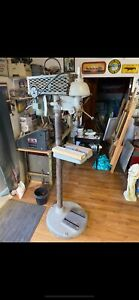 Walker Turner 15 Vintage Pedestal Drill Press Pick Up Forked River