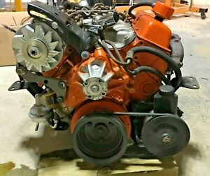 Chevy Sbc 350 Small Block Engine Motor Th350 Turbo Transmission 14093638