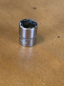 Snap On Tools 14mm Metric 6 Point 1 4 Drive Shallow Socket Usa Tmm14