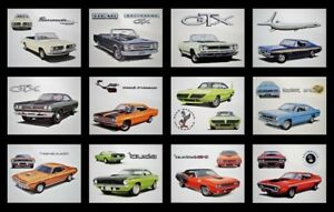 Old Plymouth Dealer Art Prints 440 340 Six pack Aar 440 6 340 6 383 400 Magnum