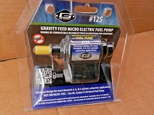 Mr Gasket 12s Electric Fuel Pump External Pump Carb 4 7 Psi 35 Gal