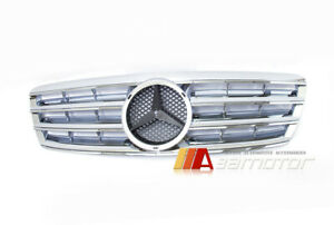 Chrome Front Hood Grille For 2001 2007 Mercedes Benz W203 C class C230 C240 C320
