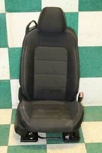 15 17 Mustang Convertible Black Cloth Right Passenger Front Seat Power Track Oem
