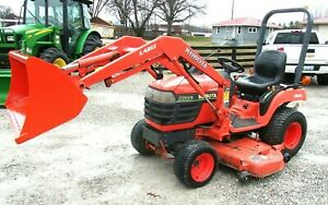 Kubota Bx2200 60 Mower Deck 4x4 Loader Free 1000 Mile Delivery From Ky