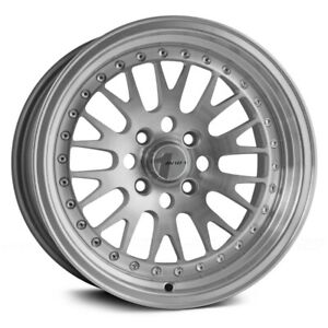 Avid 1 Av 12 Wheels 15x8 25 4x100 73 1 Machined Rims Set Of 4