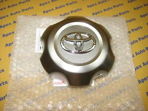 Toyota 4runner Wheel Center Cap 2005 2009 Oem Genuine Factory Toyota Part Silver