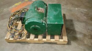 15 Hp Roto Phase Rotary Phase Converter Model C 230 Vac Made In Usa