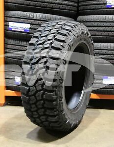 4 New 35x12 50r20 Thunderer Trac Grip M t Mud Tires 12 50r R20 35125020