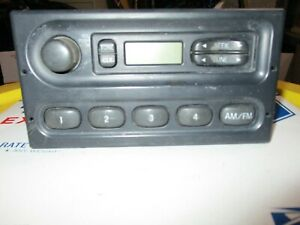 Crown Victoria Interceptor Am Fm Stereo Player Receiver Am Fm Dash Console P71
