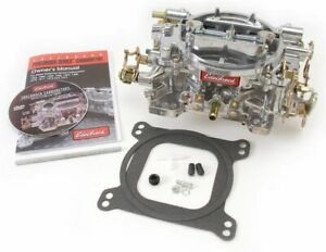 Edelbrock Reman 750cfm Carburetor Manual Choke P n 9907