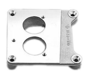 Holley Tbi Adapter Square Bore P n 17 45