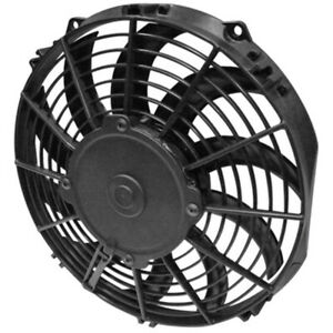 Spal Advanced Technologies 10in Pusher Fan Curved Blade 844 Cfm P N 30100320