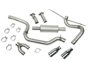 Roush Performance Parts Cat Back Exhaust Kit 12 17 Ford Focus St P N 421610