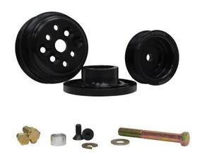 Krc Power Steering Serpentine Pulley Kit Pro Series Sbc P n Krc 36403000