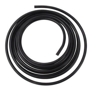 Russell 3 8 Aluminum Fuel Line 25ft Black Anodized P n 639253