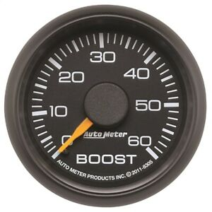 Autometer 8305 Chevy Factory Match Mechanical Boost Gauge