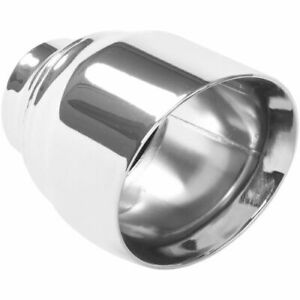 Magnaflow 35224 Stainless Steel Single Exhaust Tip 2 5 Inlet 4 5 Outlet New