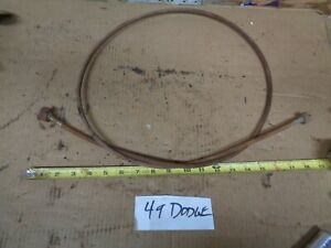 1949 Dodge Semi At Trans Car Speedometer Cable Housing 1950 1951 Desoto Oem