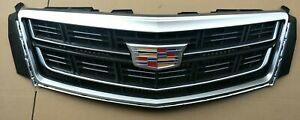 For Cadillac Xts 2013 2017 Radiator Front Bumper Grill Upper Grille With Badge