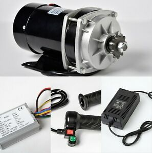 800w 36 V Dc Gear Reduction Electric Motor reverse Controller throttle charger