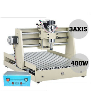 400w Usb 3 Axis Cnc 3040 Router Engraver 3d Cuttting Rngraving Milling Drilling