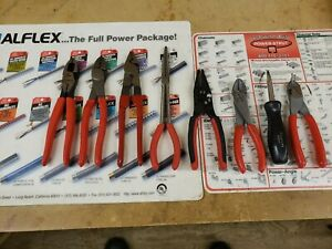 Snap On Tools 7 pcs And Blue point 1 Pair Electricians Tool Set