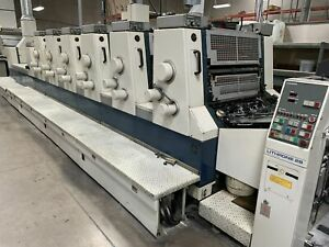 Komori 628 lx Lithrone 6 Color 1991 ali 104817