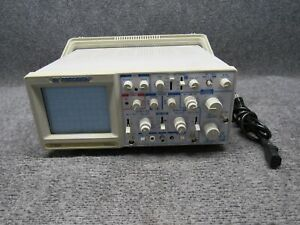 Bk Precision 2160a Dual Trace Oscilloscope 60mhz tested Working