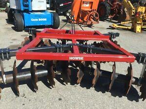 Very Nice Howse 20 Disc 3 Point Hitch Disc Harrow With 20 Inch Blades