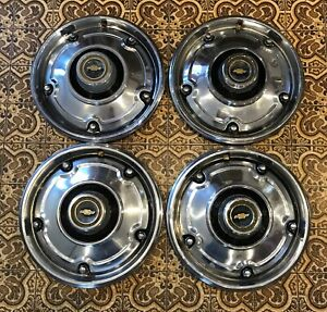 1969 1972 Chevy C 10 Truck Wheel Covers Hubcaps