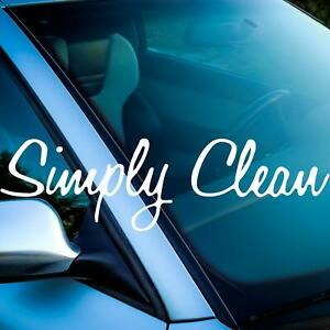 Simply Clean Sticker Windscreen Front Tuningsticker Only Interior Adhesive