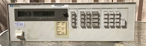 Hp Agilent Keysight 6623a System Power Supply Last Calibrated 2014