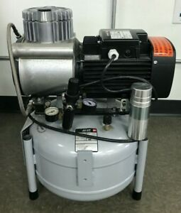 Jun air Air Compressor Oil less Rocking Piston Electric 120vac 6 6 Gal 120psi