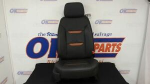19 Gmc Sierra 1500 At4 Front Right Passenger Power Seat Black And Tan Leather