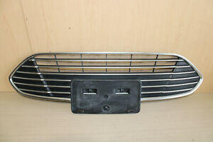 17 18 Ford C Max Cmax Center Grille Grill W License Plate Holder Genuine Oem