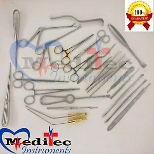 Neuro Spinal Surgery Surgical Orthopedic Instruments 24 Pcs Set Best Quality
