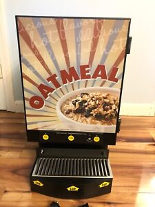 Curtis Commercial Oatmeal Auto Dispenser dispensing System 3 Flavor