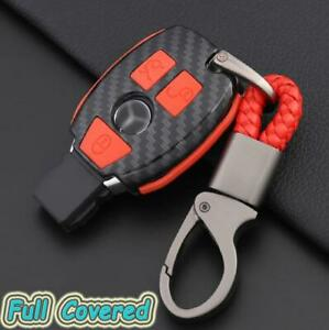 3 Buttons Remote Key Holder Fob Case Cover For Mercedes Benz A b c e g cla Class